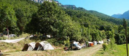 Boerdeijcamping Caserio San Marcial Spaanse Pyreneeën
